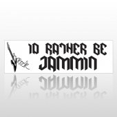 Be Jammin 168 Bumper Sticker