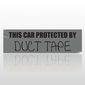 Car Tape 01 Bumper Sticker