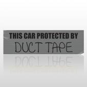 Car Tape 01 Bumper Sticker
