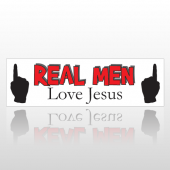 Men Love 204 Bumper Sticker