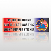 Obama Sticker 11 Bumper Sticker
