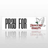Peace Earth 214 Bumper Sticker