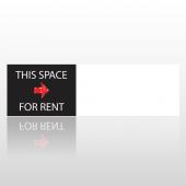 Rent Space 10 Bumper Sticker