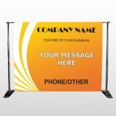 Law 142 Pocket Banner Stand
