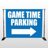 Parking 298 Pocket Banner Stand
