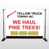 Towing 300 Pocket Banner Stand