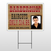 Barbershop Cuts 287 Wire Frame Sign