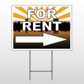For Rent 721 Wire Frame Sign