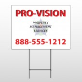 Property Management 247 Wire Frame Sign