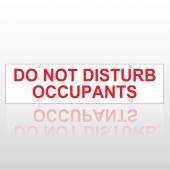 Do Not Disturb Occupants Rider