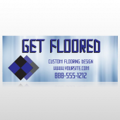 Blue Checker 249 Banner
