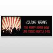 Night Club 523 Banner