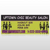 Uptown Salon 642 Custom Banner