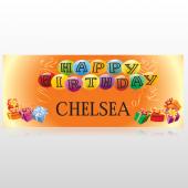 Birthday Balloons 185 Banner