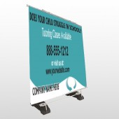Classy Blue 160 Exterior Pocket Banner Stand