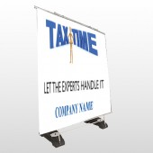 Tax Time 153 Exterior Pocket Banner Stand
