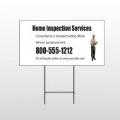 Inspection 360 Wire Frame Sign