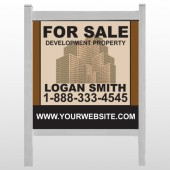 "Brown Buildings 858 48""H x 48""W Site Sign"