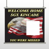 Eagle Flag 307 Hanging Banner
