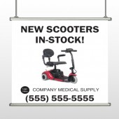 New Scooter 100 Hanging Banner