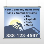Roofing 258 Hanging Banner