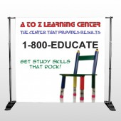 Pencil Chair 159 Pocket Banner Stand