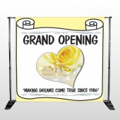 Rose Rings 396 Pocket Banner Stand