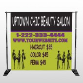 Uptown Salon 642 Pocket Banner Stand