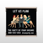 Party Planning 519 Track Banner