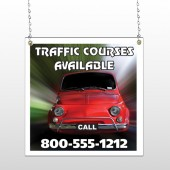 Car Traffic 153 Window Sign