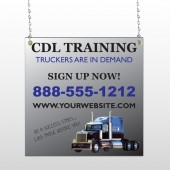 CDL Training 155 Window Sign