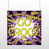 Crocs 42 Window Sign