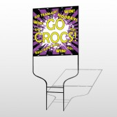 Crocs 42 Round Rod Sign