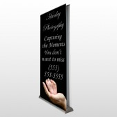 Flower 49 Retractable Banner Stand