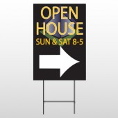 Open Corner 649 Wire Frame Sign