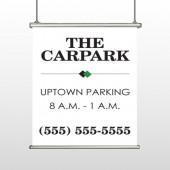 Car Park 122 Hanging Banner