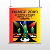 Dance Disco 518 Hanging Banner
