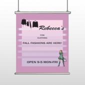 Fine Clothing 531 Hanging Banner