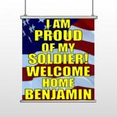 Flag 57 Hanging Banner
