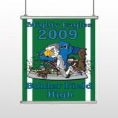 Green 50 Hanging Banner