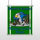 Green 56 Hanging Banner