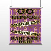 Hippos 45 Hanging Banner