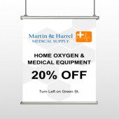 Home Oxygen 139 Hanging Banner