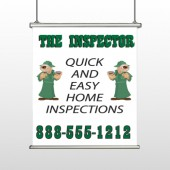 Home Inspection 361 Hanging Banner