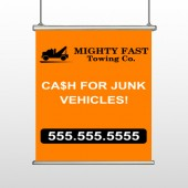 Mighty 313 Hanging Banner