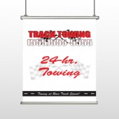 Towing 126 Hanging Banner