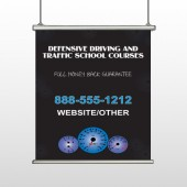 Traffic School 152 Hanging Banner