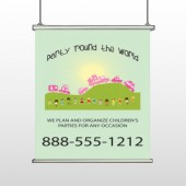 World Party Plan 520 Hanging Banner