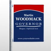 Governor 132 Pole Banner