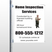 Home Inspection 360 Pole Banner